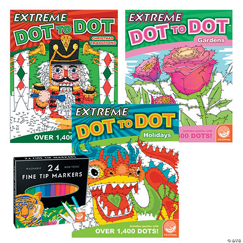 Extreme Dot to Dot: Magic Moments Set of 3 with FREE MARKERS Image Thumbnail