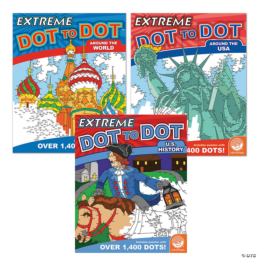 Extreme Dot to Dot: People & Places Set of 3 Image Thumbnail