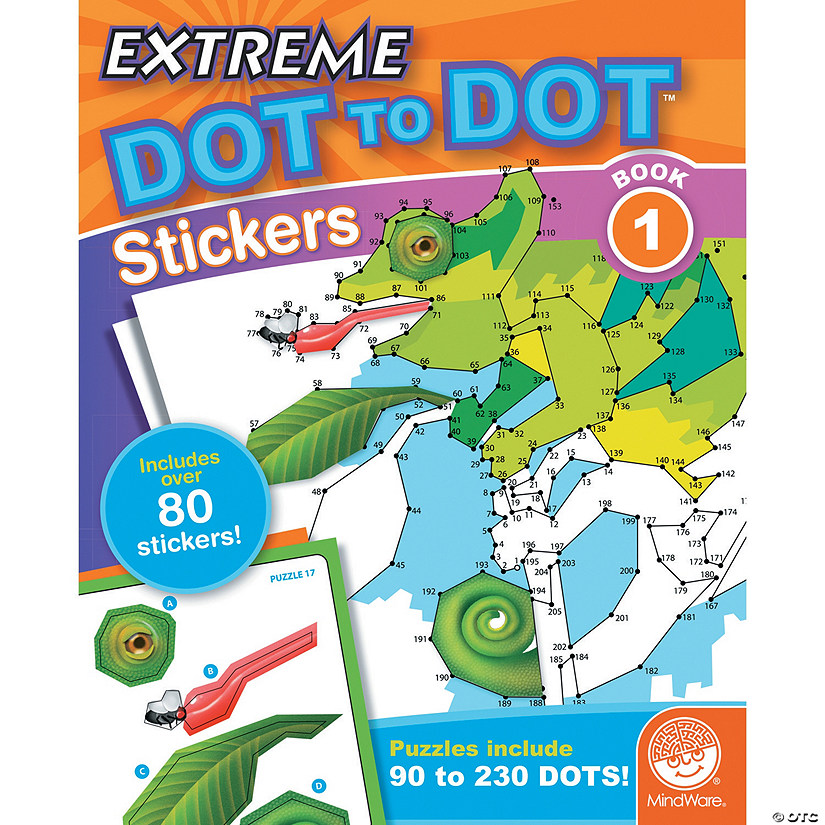 Extreme Dot to Dot Stickers: Book 1 Audio Thumbnail