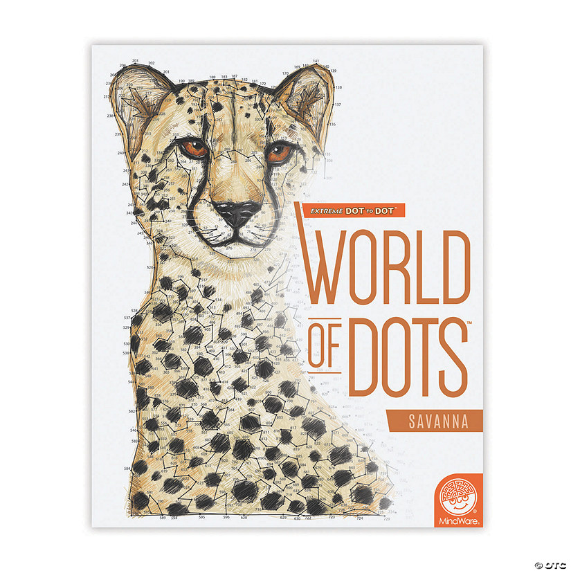 Extreme Dot to Dot World Of Dots: Savanna Image Thumbnail