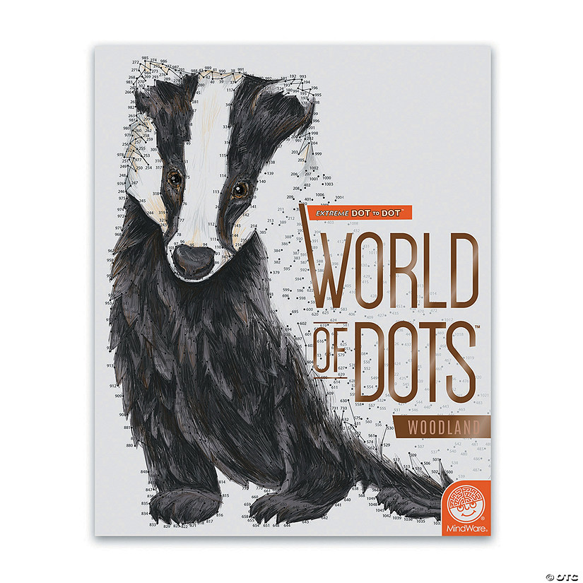 Extreme Dot to Dot: World of Dots Woodland