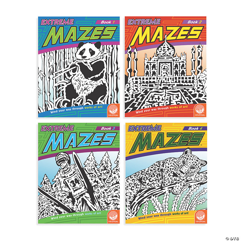 Extreme Mazes: Set of 4 Audio Thumbnail