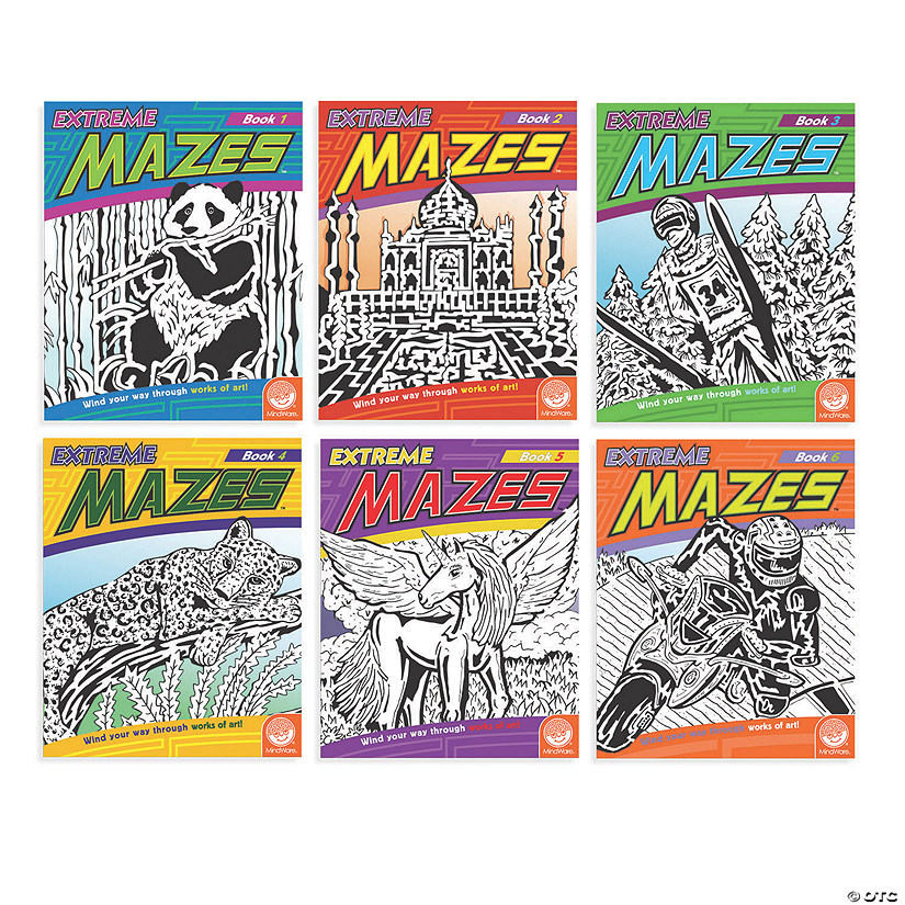 Extreme Mazes: Set of 6 Image Thumbnail