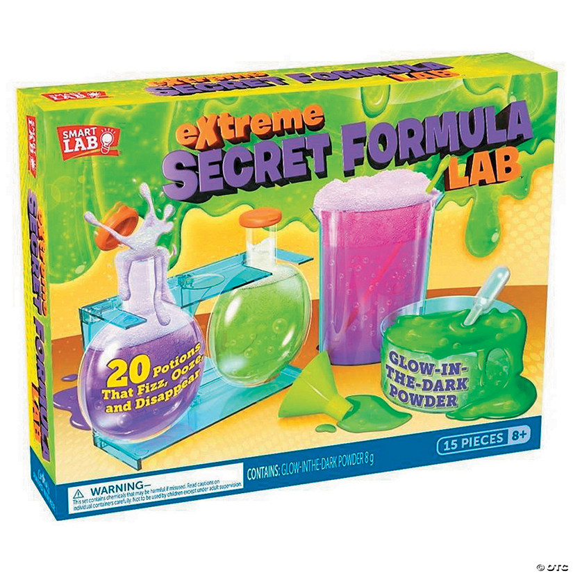 Extreme Secret Formula Lab Audio Thumbnail
