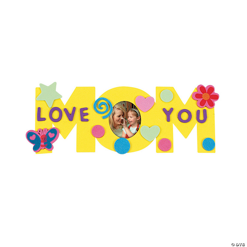 "Fabulous Foam ""Mom"" Frames - Discontinued"