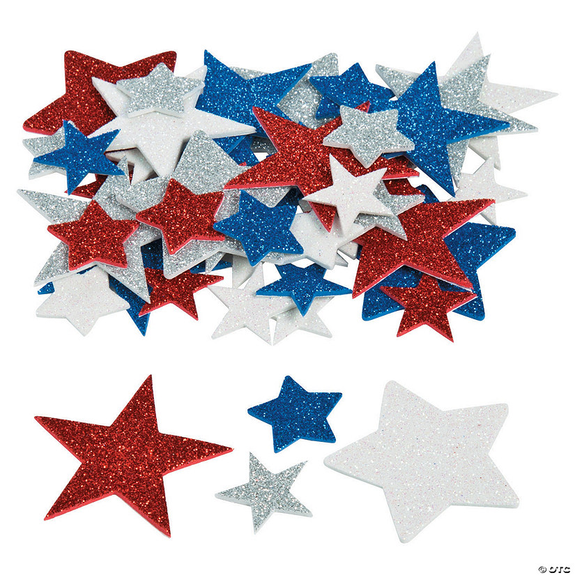 Fabulous Foam Star Glitter Shapes Image Thumbnail