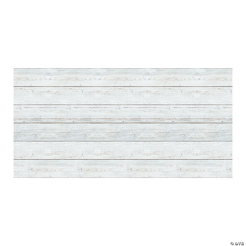 Fadeless<sup>&#174;</sup> White Shiplap Bulletin Board Paper Roll Image Thumbnail