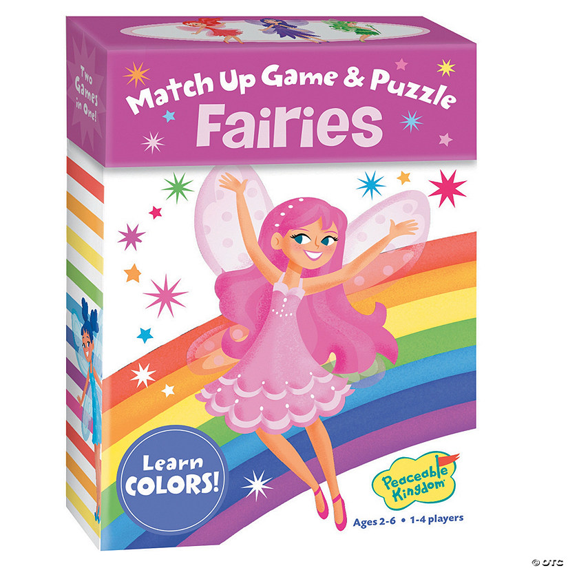 Fairies Color Match Up Game Image Thumbnail