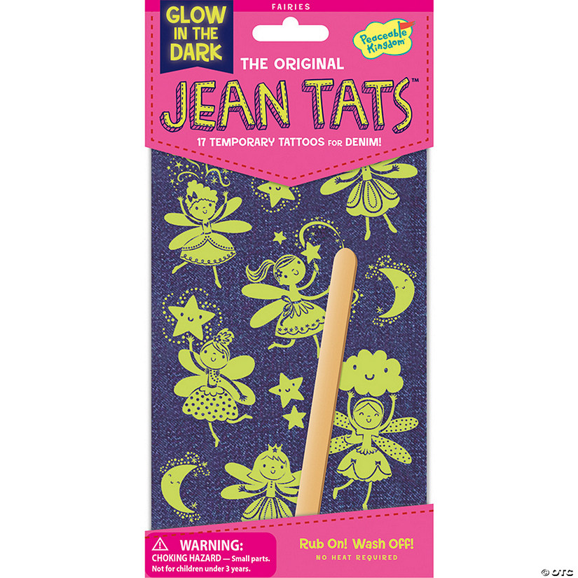 Fairies Glow-In-The-Dark Jean Tats Pack Audio Thumbnail
