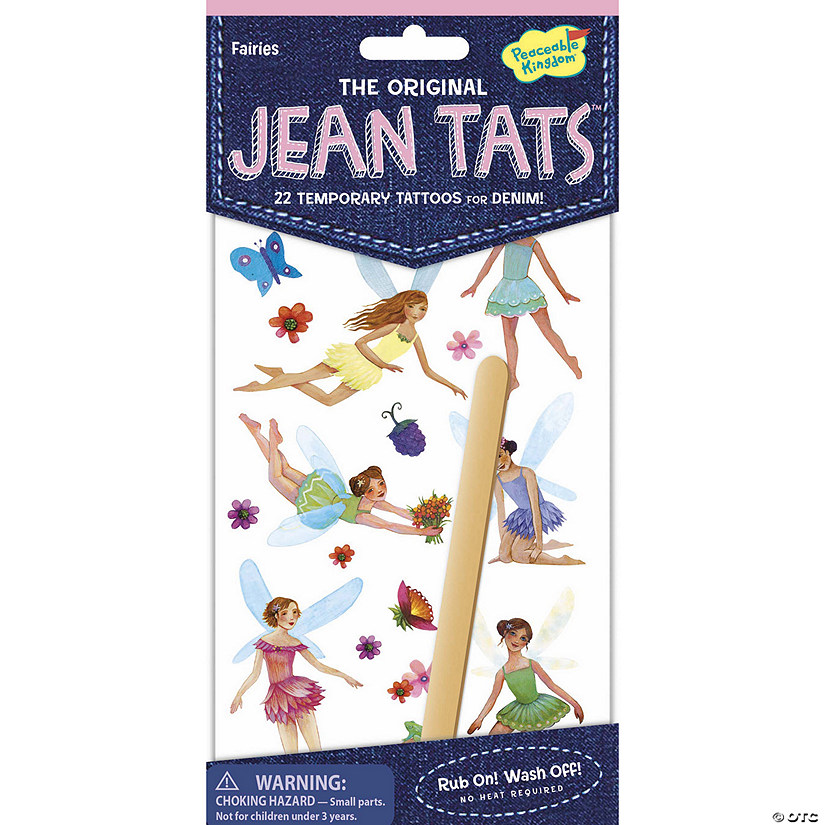 Fairies Jean Tats Pack Audio Thumbnail