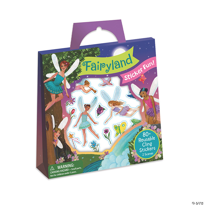 Fairyland Reusable Sticker Tote Image Thumbnail