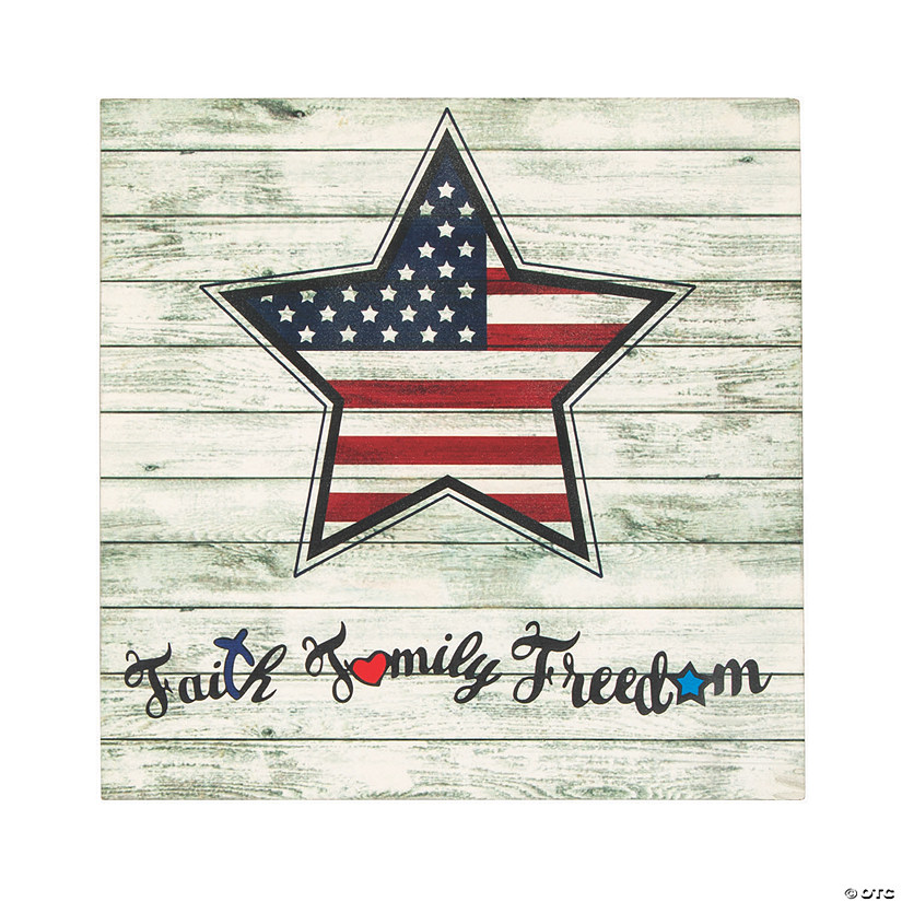 Faith Family Freedom Sign Audio Thumbnail