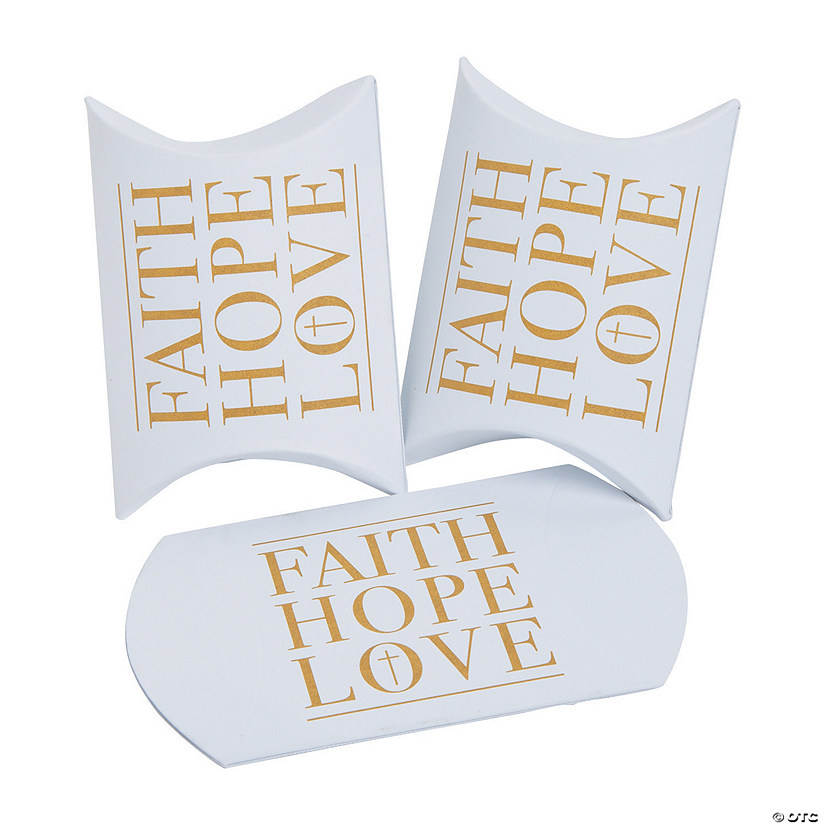 Faith, Hope, Love Pillow Boxes Audio Thumbnail