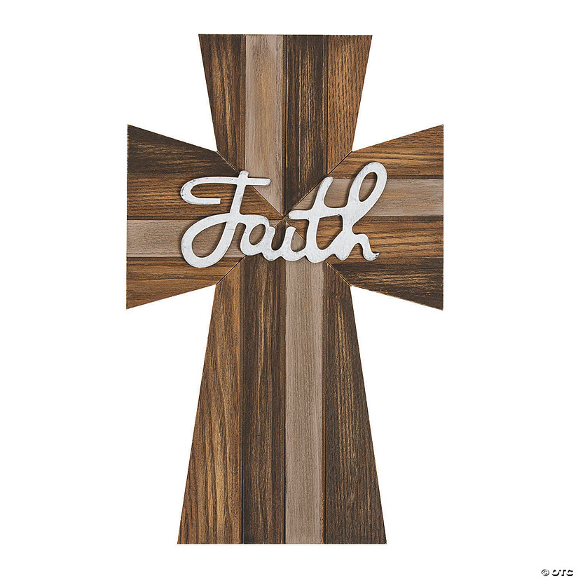 Faith Rustic Wall Cross Image Thumbnail