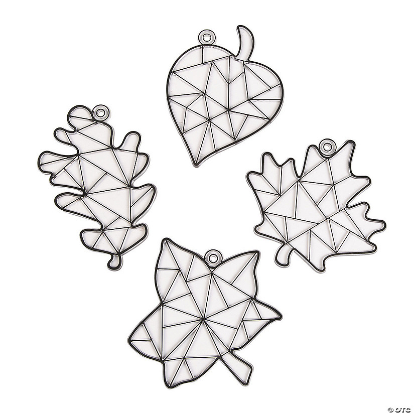 Fall Leaf Suncatchers Image Thumbnail