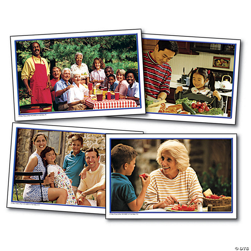 Families Photographic Learning Cards, Set of 3 packs Audio Thumbnail