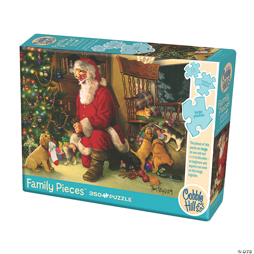 Family Puzzle Santa's Lucky Stocking Audio Thumbnail