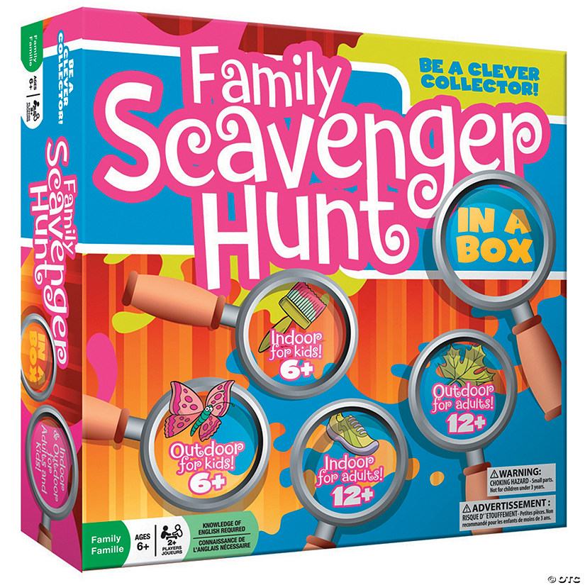 Family Scavenger Hunt Audio Thumbnail