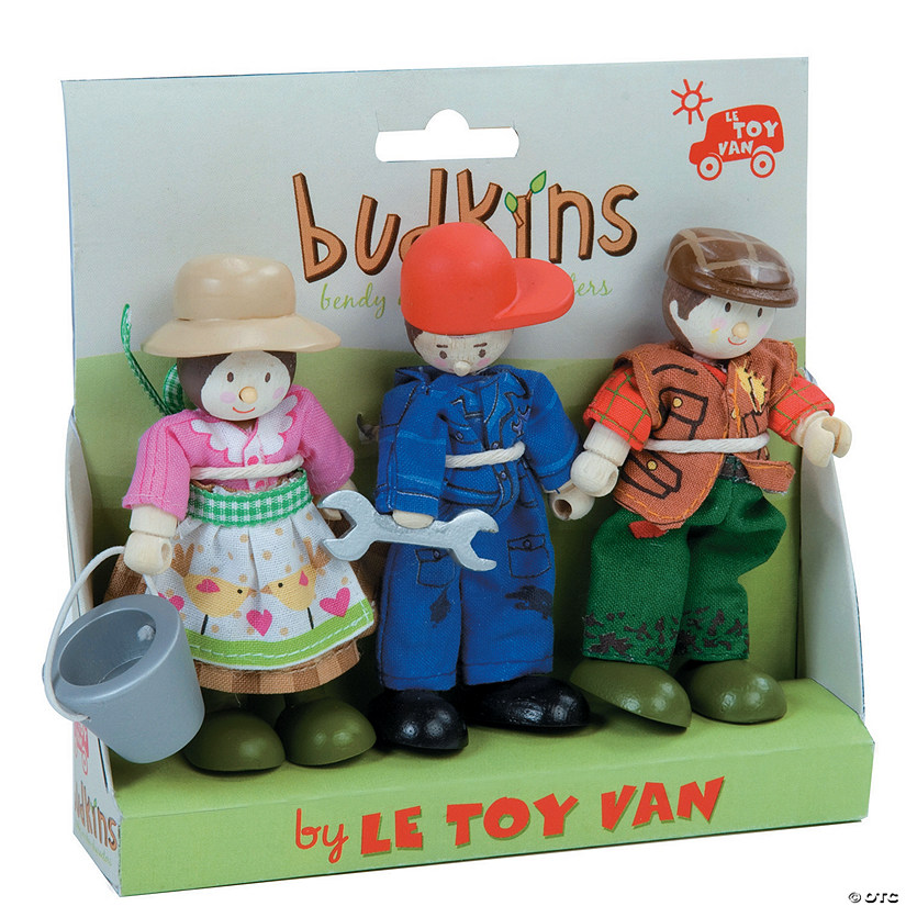 Farmers Budkins Character Dolls Audio Thumbnail