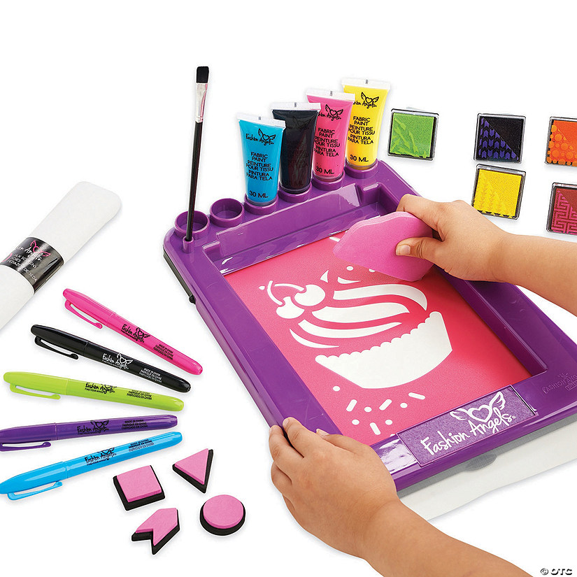Fashion Angels Deluxe Screen Printing Kit Image Thumbnail