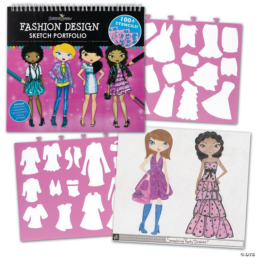 Summary Fashion Angels Fashion Design Sketch Portfolio Artist Set