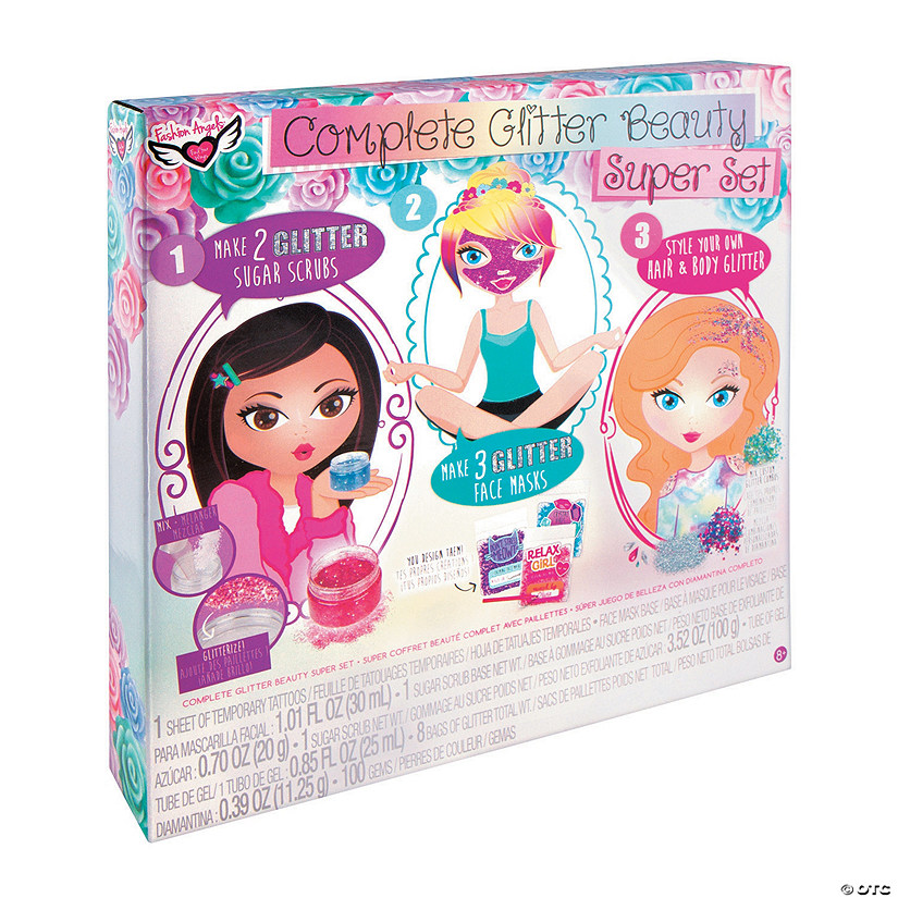 Fashion Angels<sup>&#174;</sup> Complete Glitter Beauty Super Set Image Thumbnail