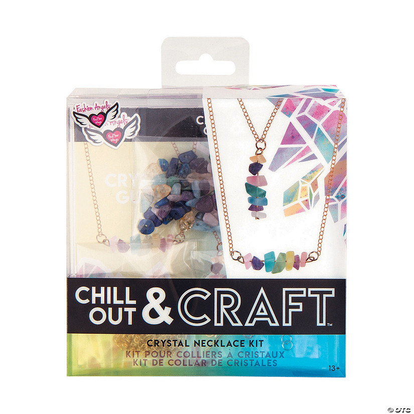 Fashion Angels<sup>&#174;</sup> Chill Out & Craft Crystal Necklace Kit Audio Thumbnail