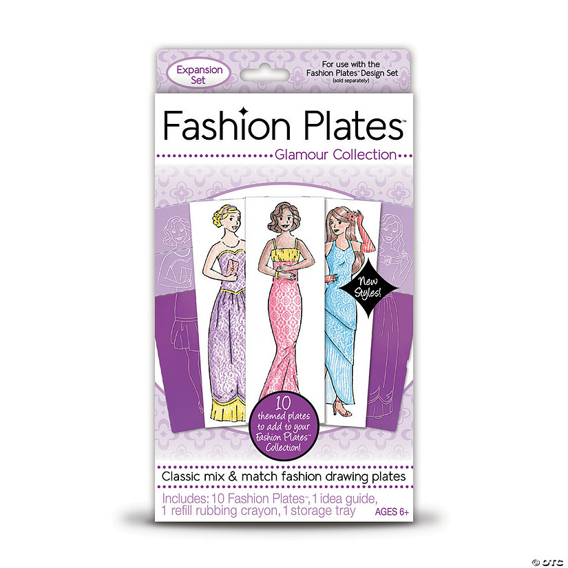 Fashion Plates Add-on Set: Glamour Collection Image Thumbnail