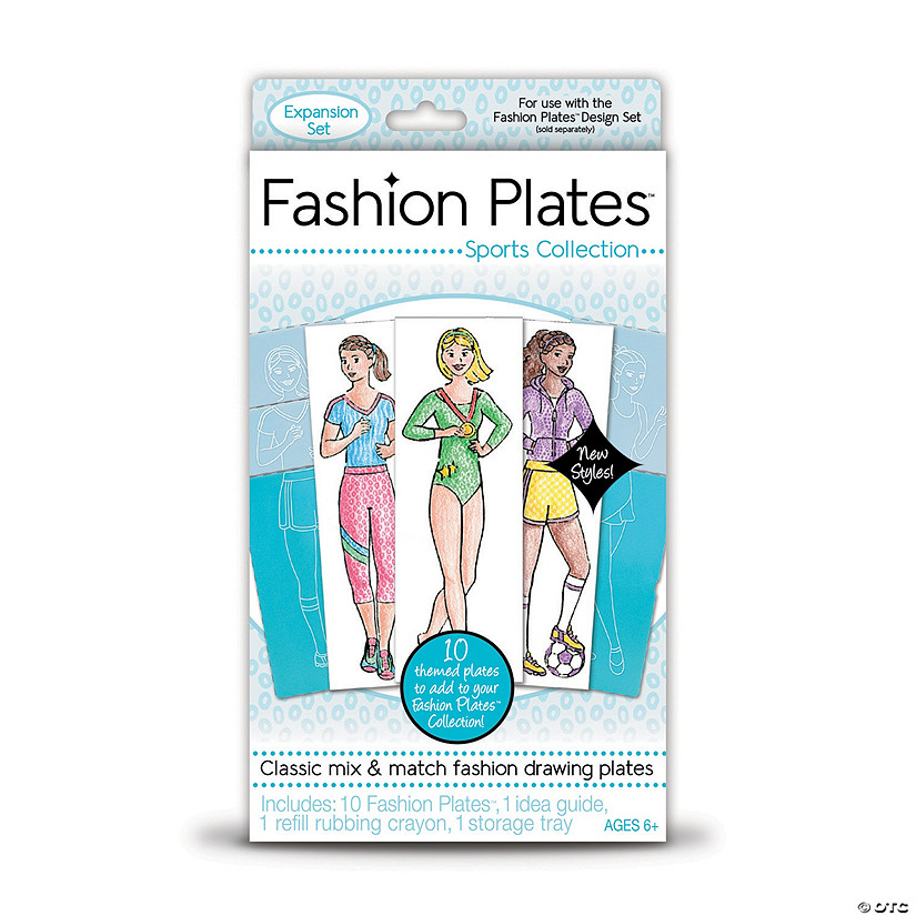Fashion Plates Add-on Set: Sports Collection Audio Thumbnail