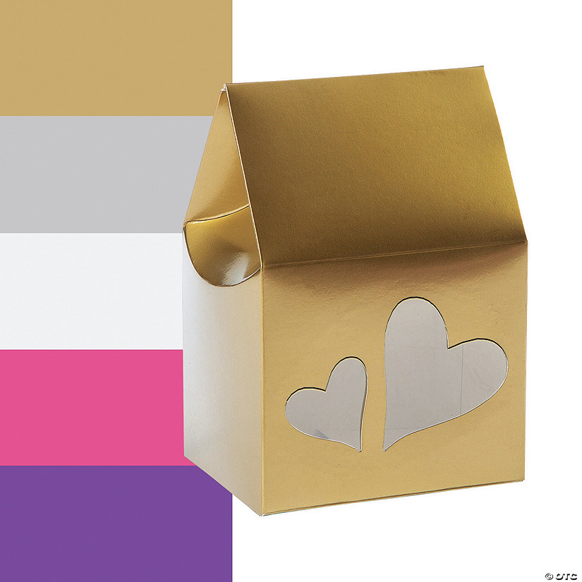 Favor Boxes with Heart Cutouts Image Thumbnail