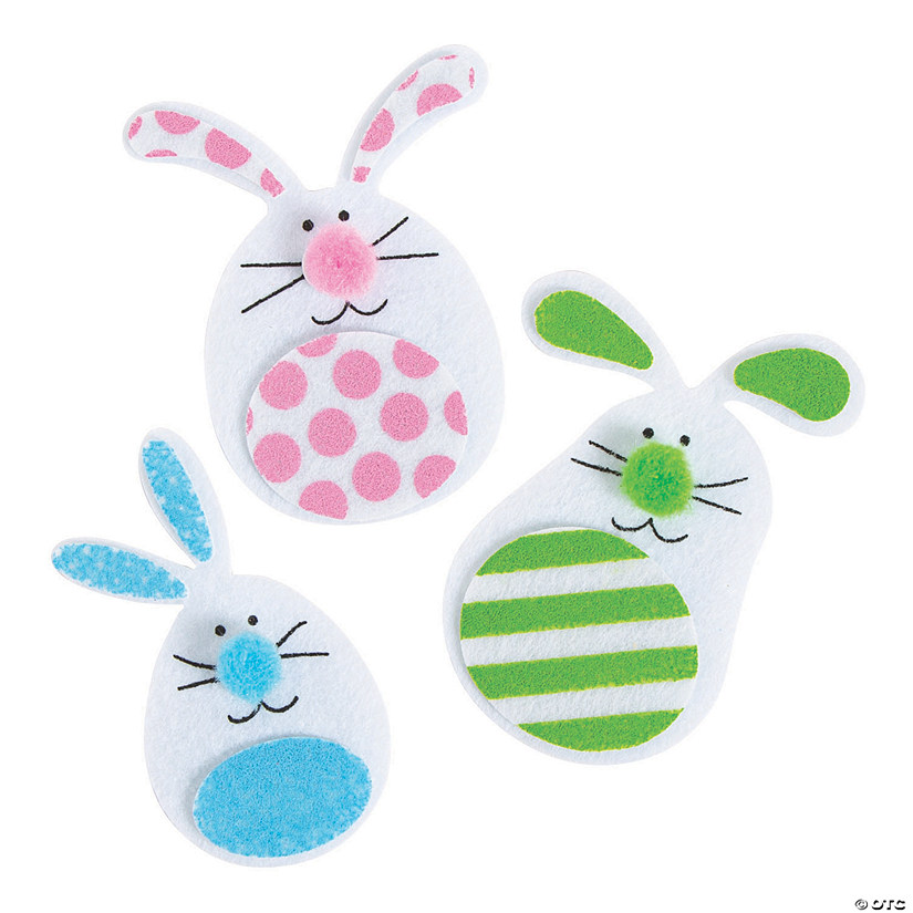 Felt Bunny Magnet Craft Kit Audio Thumbnail