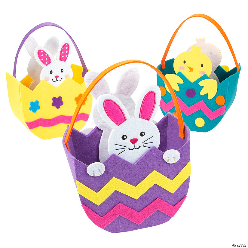 Felt Easter Baskets Image Thumbnail