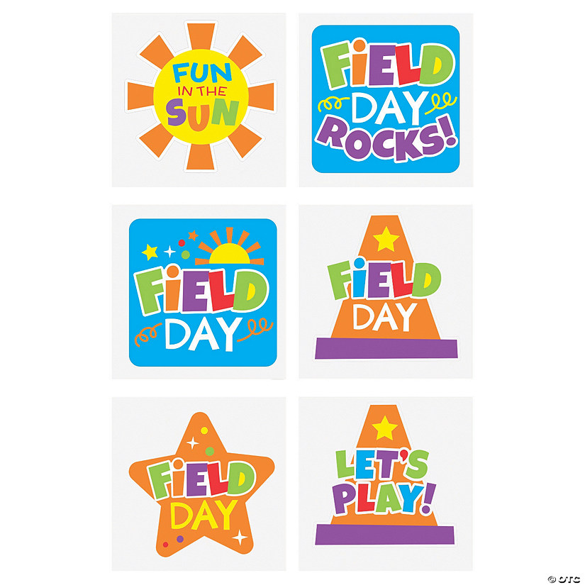 Field Day Temporary Tattoos