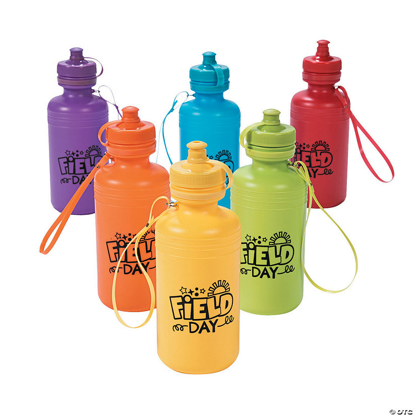 Field Day Water Bottles Image Thumbnail