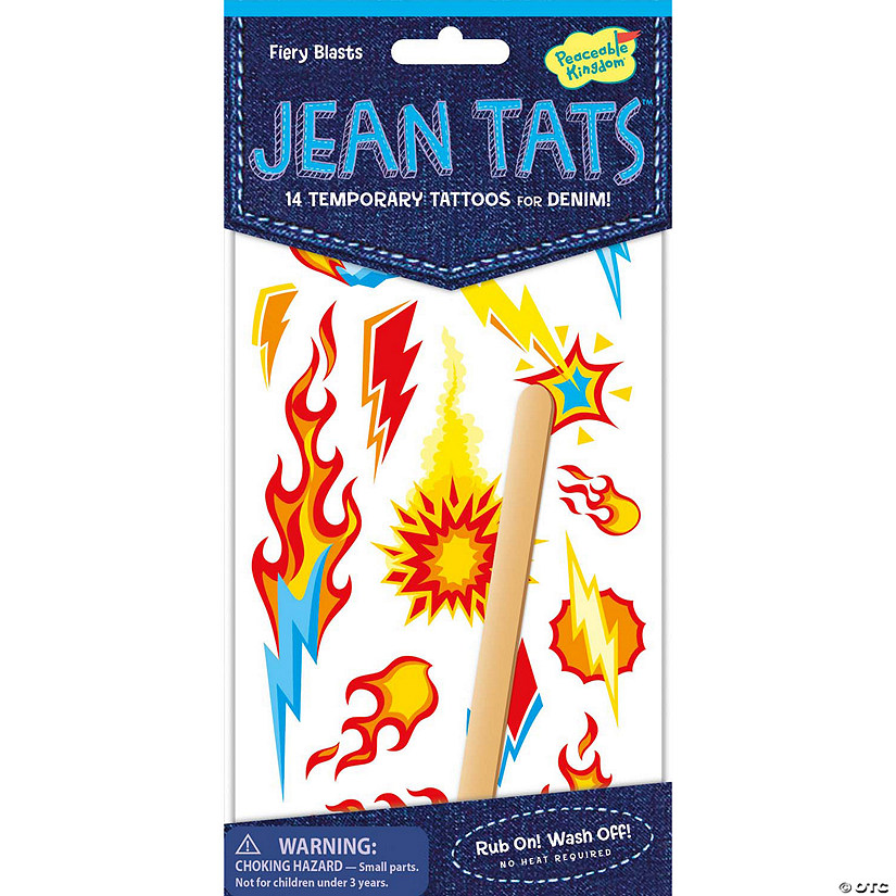 Fiery Blasts Jean Tats Packs Image Thumbnail