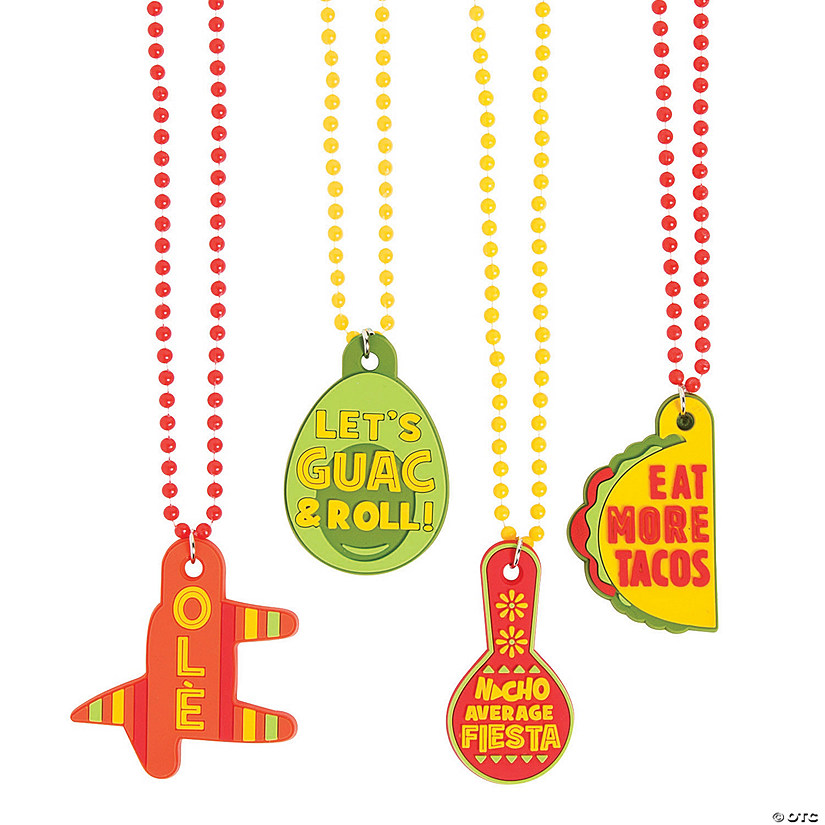Fiesta Beaded Necklaces with Sayings Audio Thumbnail