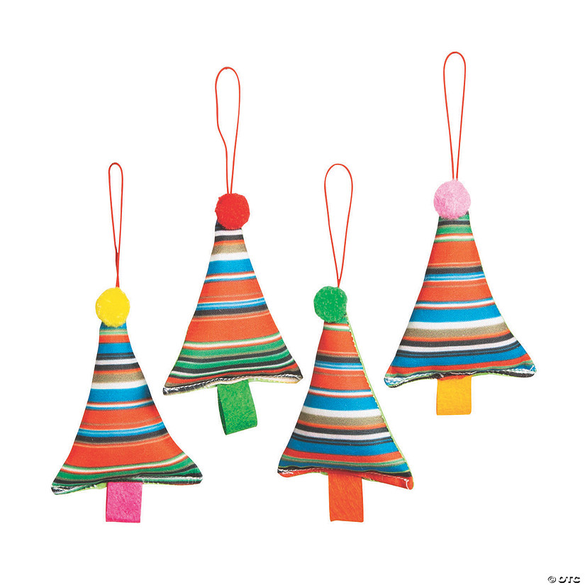 Fiesta Christmas Tree Ornaments Image Thumbnail