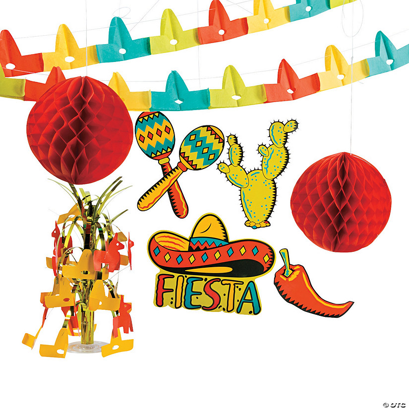 Fiesta Decorating Kit Image Thumbnail