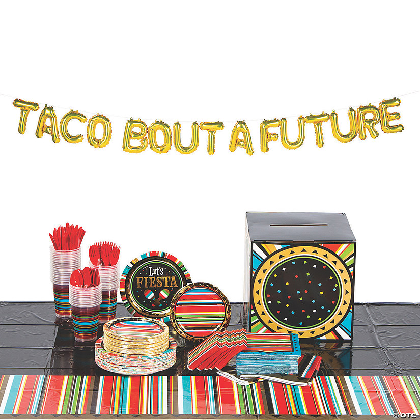 Fiesta Grad Tableware Kit for 48 Guests Audio Thumbnail