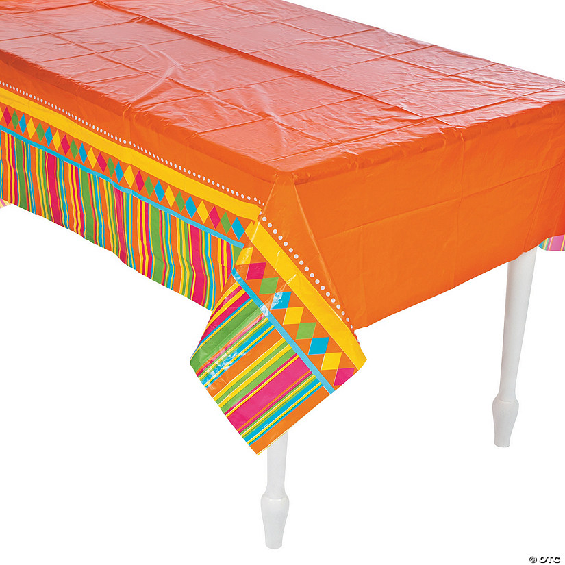 Fiesta Party Plastic Tablecloth Audio Thumbnail