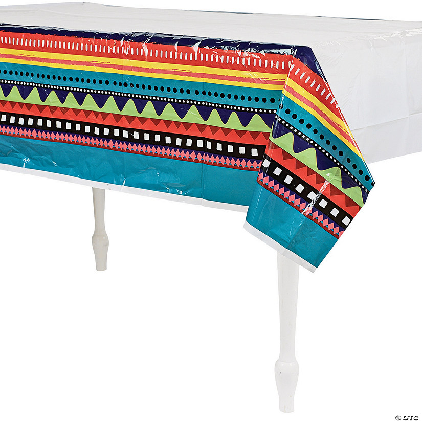 Fiesta Plastic Tablecloth Image Thumbnail