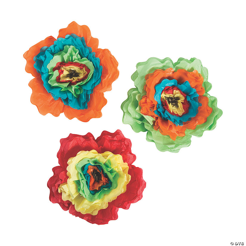 Fiesta Tissue Paper Flowers Audio Thumbnail