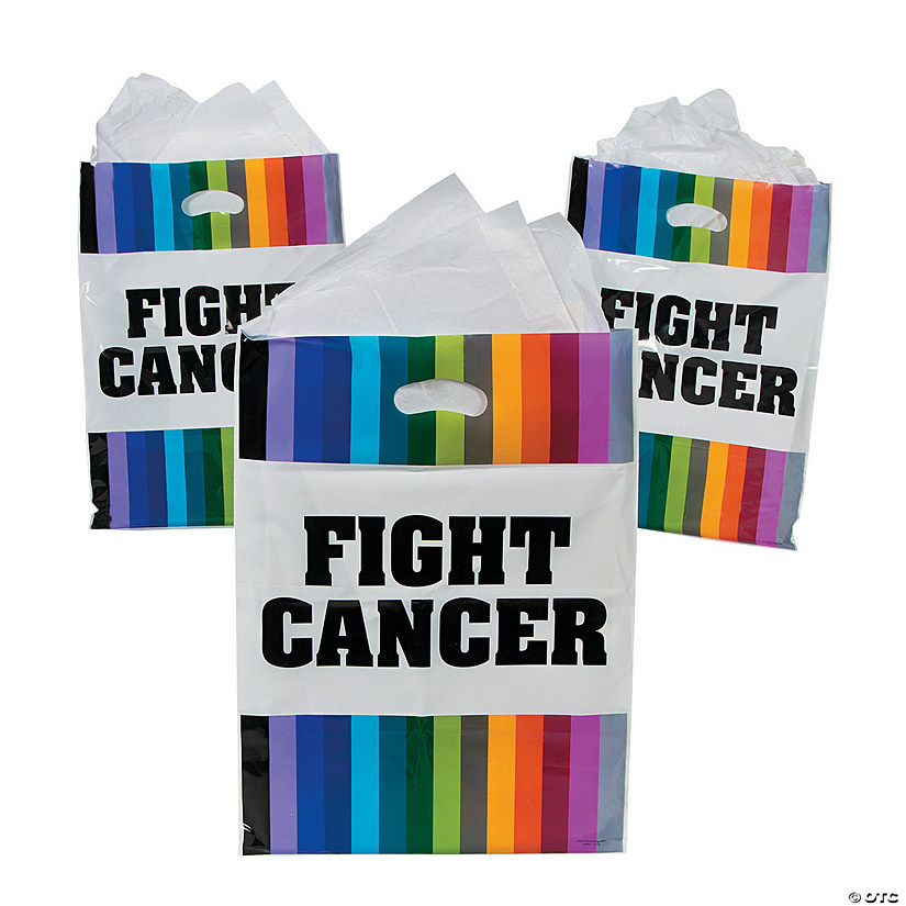 Fight Cancer Awareness Favor Bags