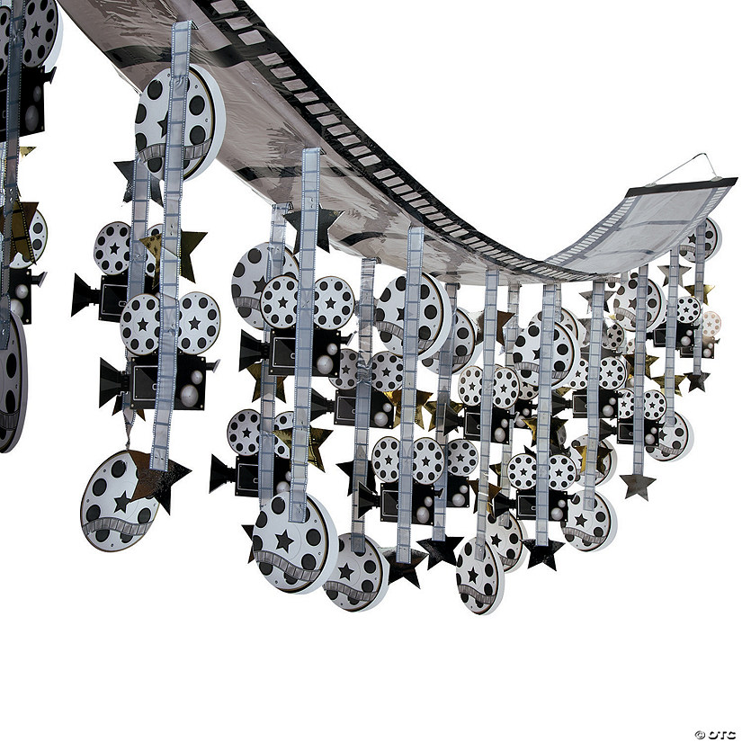 Film Strip Ceiling Decoration Audio Thumbnail