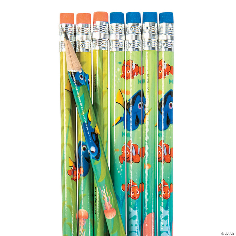 Finding Dory Pencils - 8 Pc. Image Thumbnail