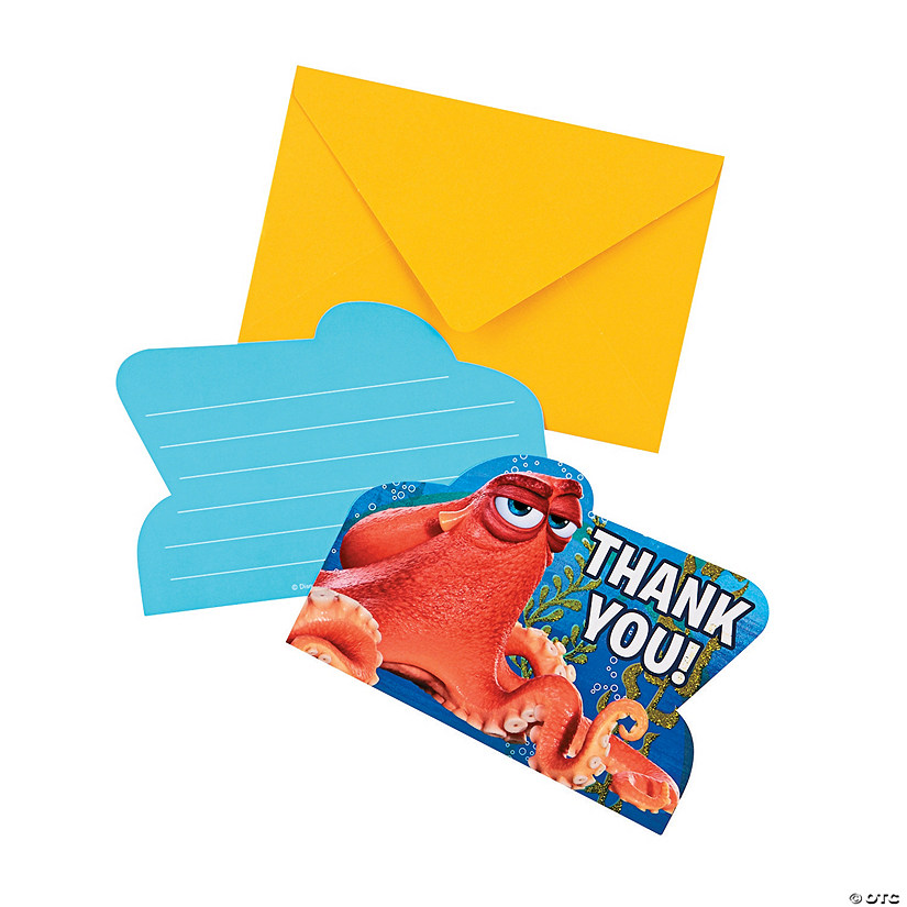 Finding Dory Thank You Cards