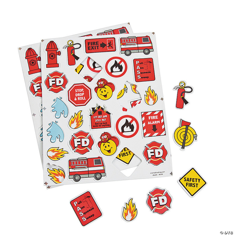 Fire Safety Self-Adhesive Shapes Audio Thumbnail