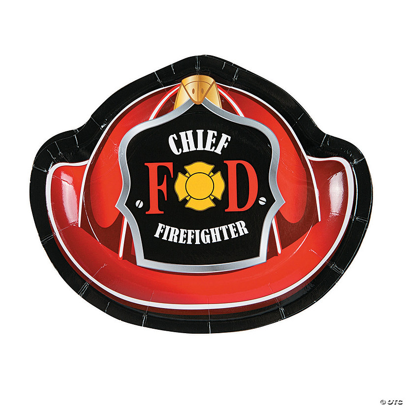 Firefighter Party Dessert Plates Audio Thumbnail