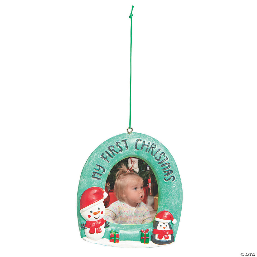 First Christmas Picture Frame Ornament Audio Thumbnail