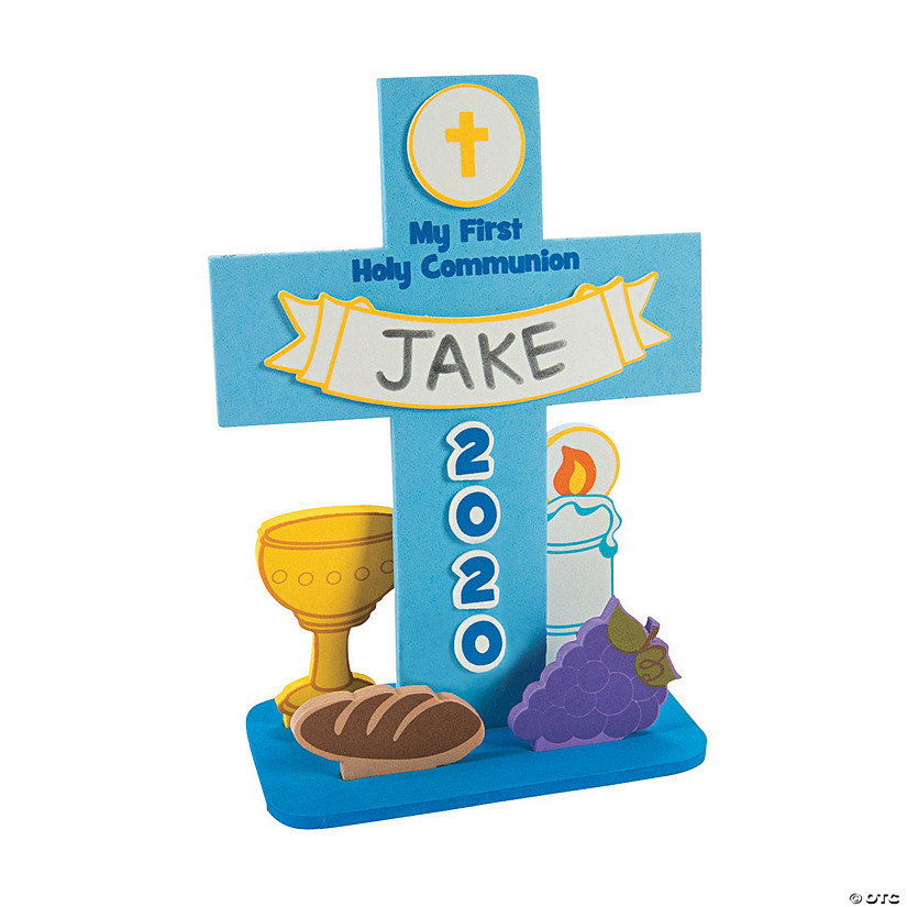 First Communion Stand-Up Cross Craft Kit
